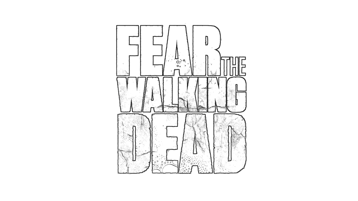 Fear walking dead coloring page by richard67915 on deviantart for The walking dead coloring pages