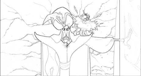 Aladdin Coloring Page 1 by Richard67915