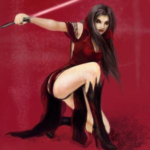 Jedi Vampire by YueYume