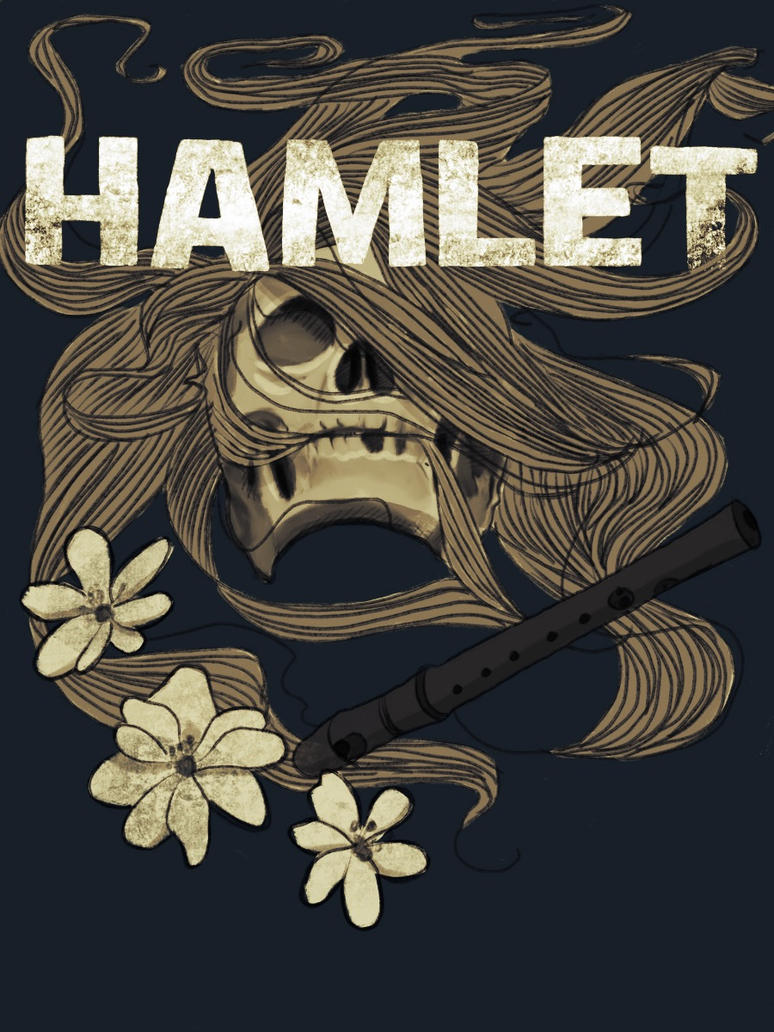 Book Cover Art Images ~ Hamlet book cover by snooly on deviantart