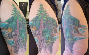more on redwood scene by hoviemon