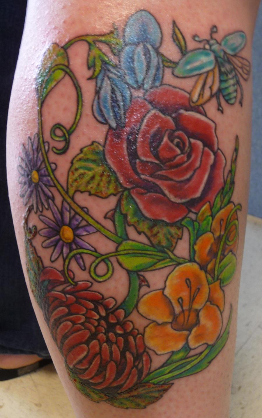 flower piece by hoviemon