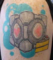 healed companion cube by hoviemon