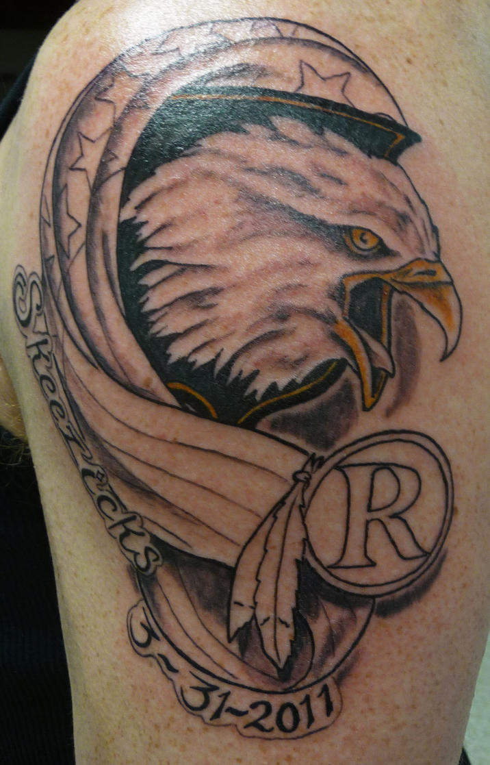 Airborne memorial tattoo by hoviemon on deviantart for Memory tattoos pictures