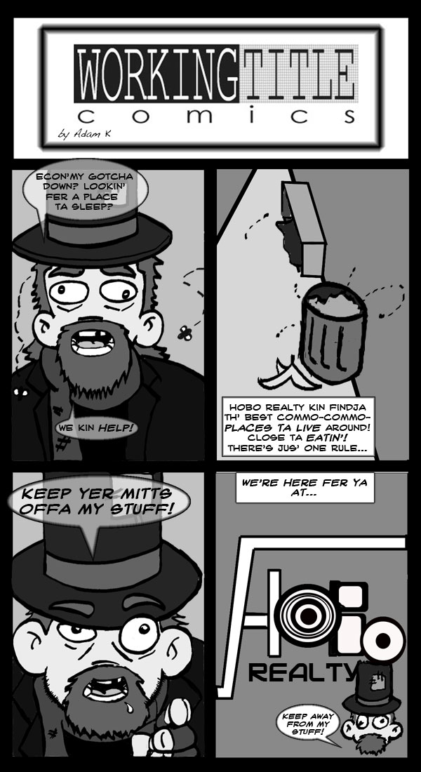 Hobo Realty by HappinessComics
