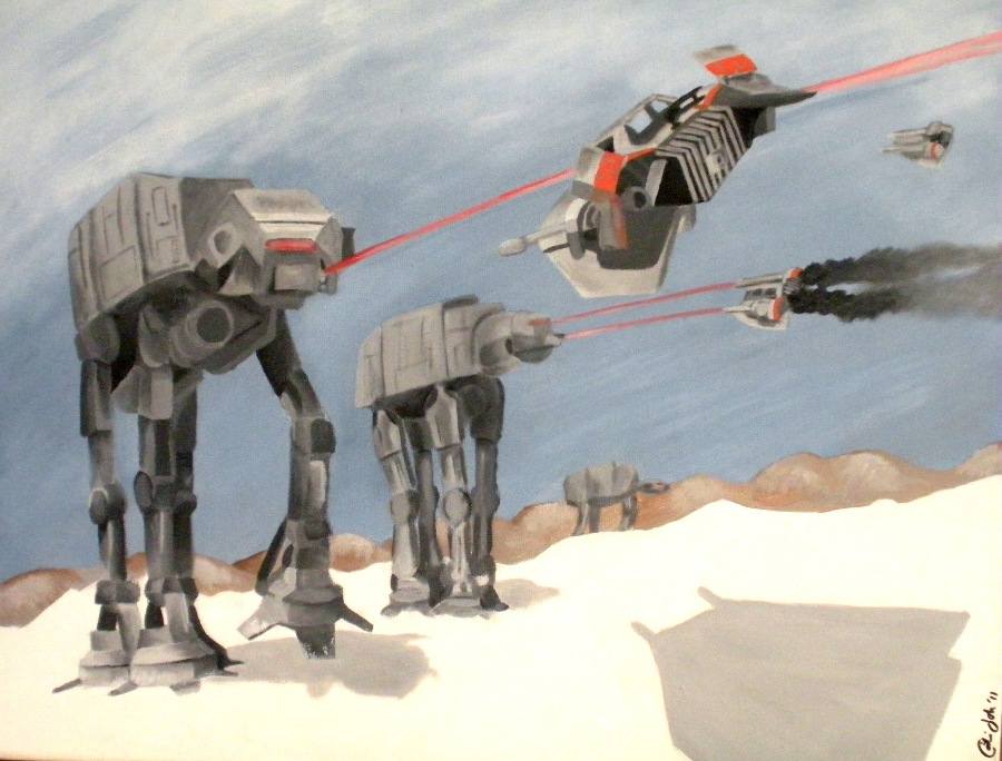 Hoth Battle Wallpaper Battle of Hoth by