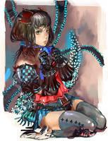 armor girl 3 by amatoy