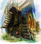 humongous dump car by amatoy
