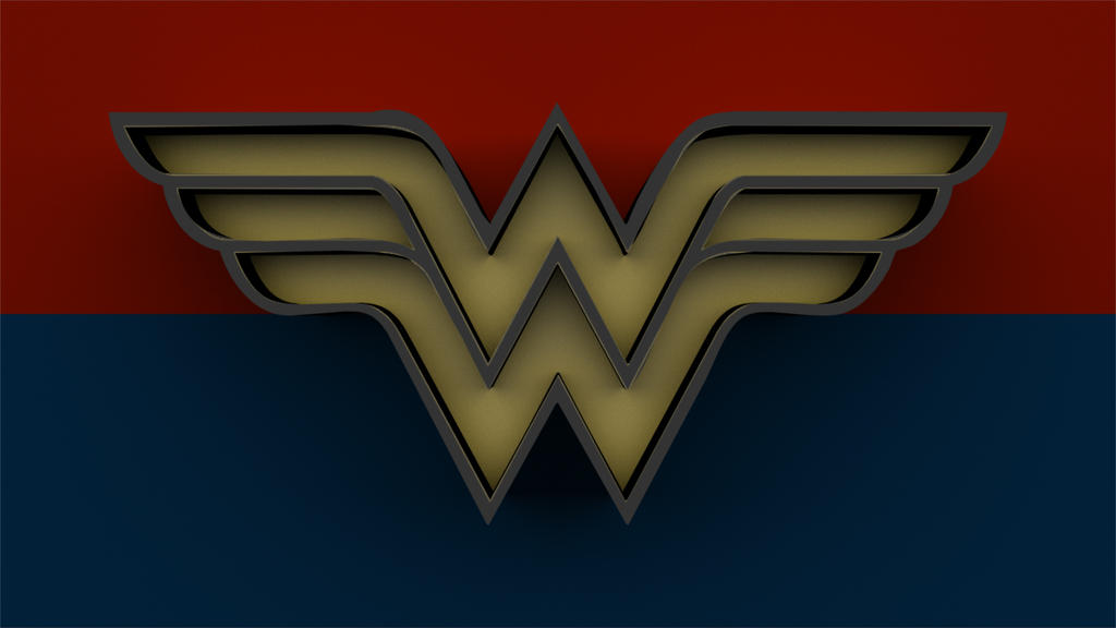 Wonder woman classic 3d logo by fashfish9 on deviantart wonder woman classic 3d logo by fashfish9 pronofoot35fo Image collections