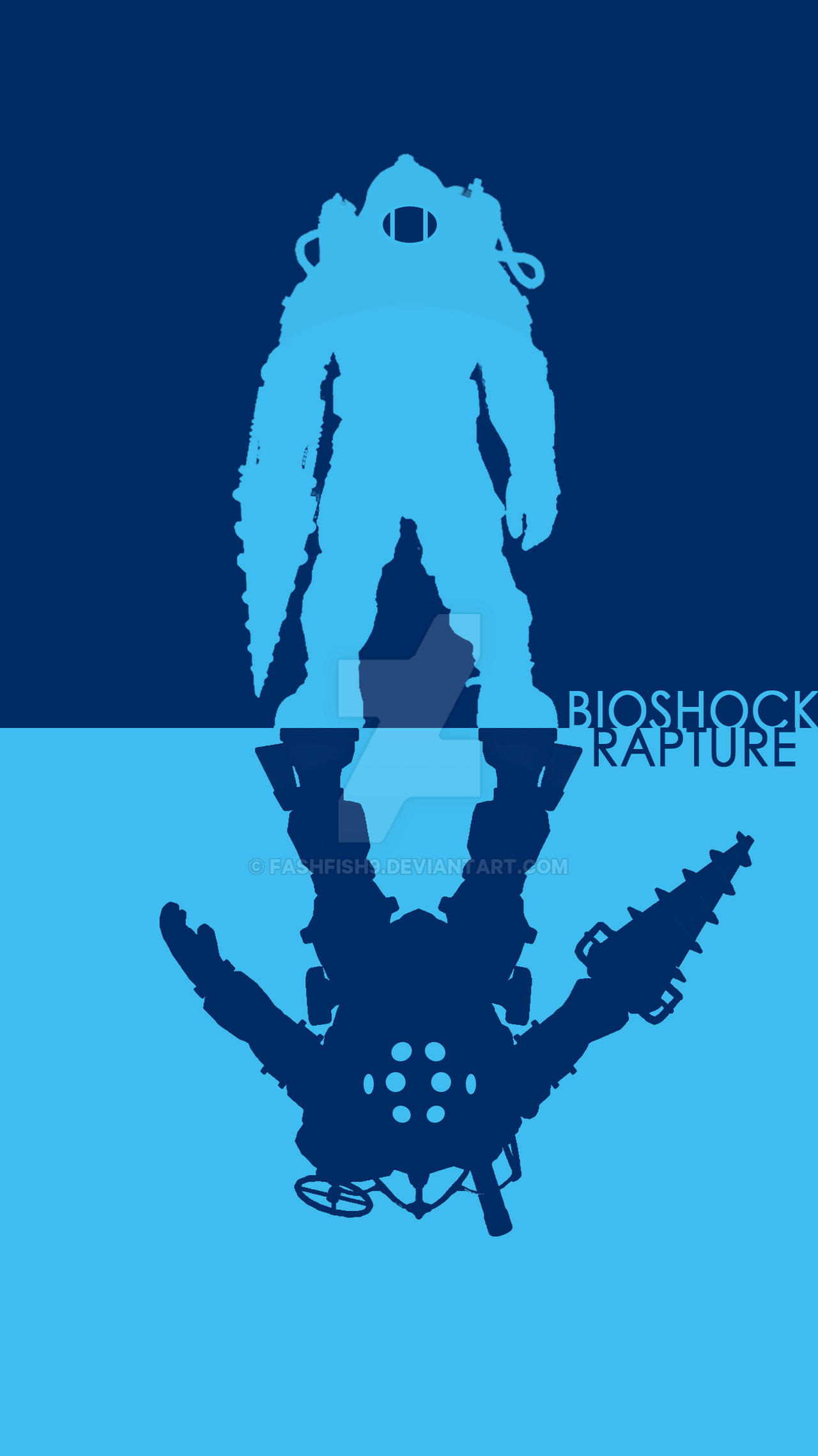 Cool Wallpaper Mobile Simple - bioshock_big_daddy_phone_wallpaper_simple__by_fashfish9-d8xqqwo  Best Photo Reference_30812.jpg