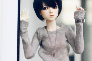 Eva lookin forward by surya-s-dolls