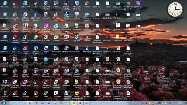 sahwar's new desktop (August 2014)