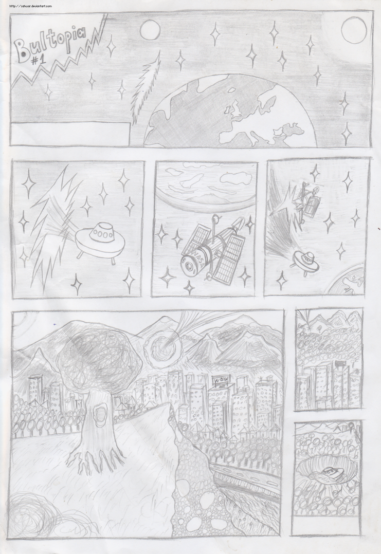 Bultopia webcomic No1 by sahwar