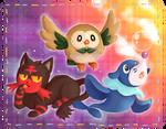 Pokemon Sun And Moon Starter