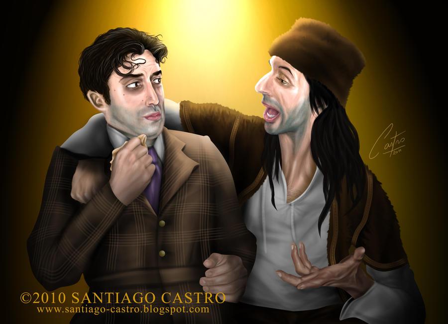 "Caricaturas de ""Dracula - El Musical"""