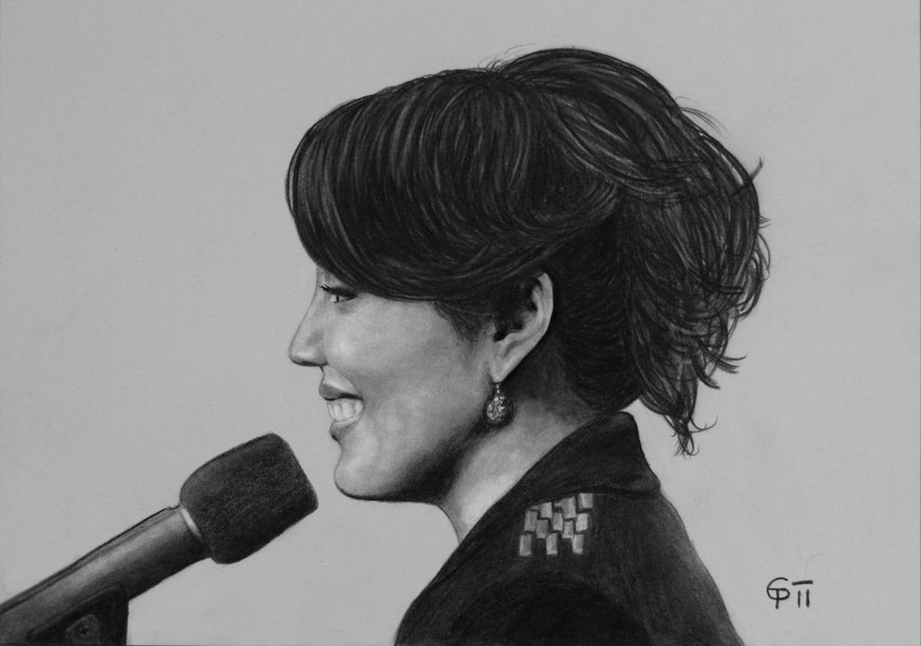 Sara Ramirez 'Callie Torres' by kitsunegari16
