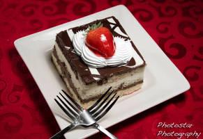 Sharing dessert by photostarphotography