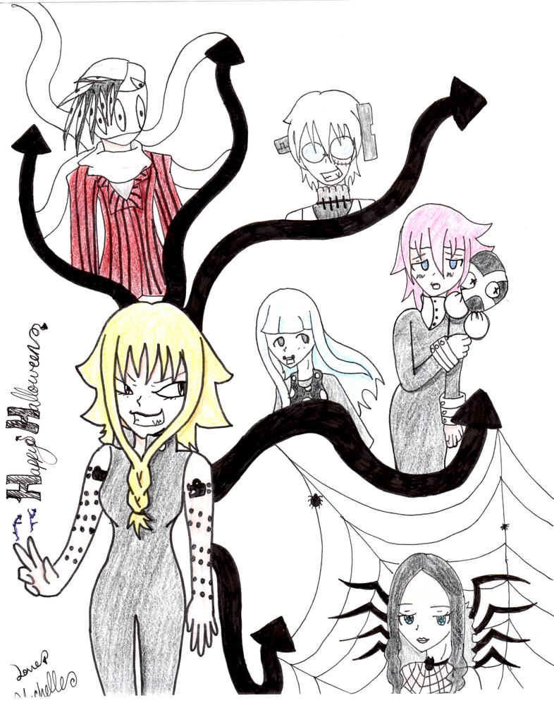 Soul eater halloween by pouncethecat on deviantart - This is halloween soul eater ...