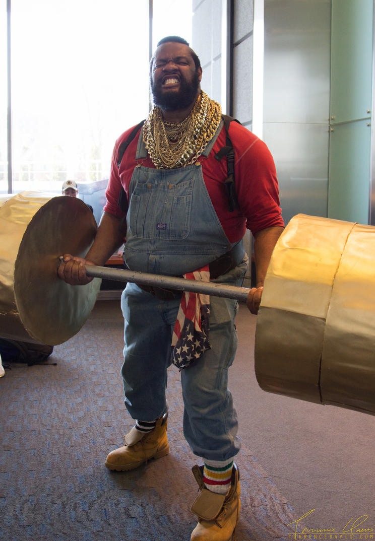 PAX East Mr. T by tordavis