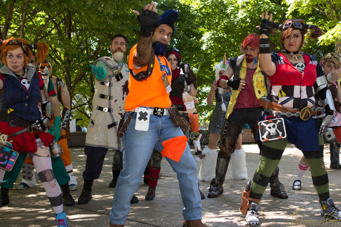 DragonCon 2014 - Borderlands 2 Moon Dance by tordavis