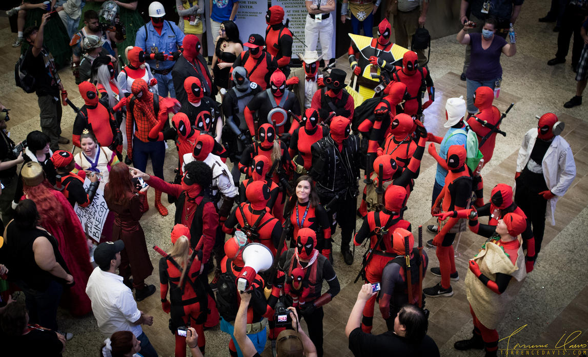 DragonCon 2014 - Deadpool meetup by tordavis