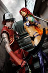 Starfire and Arsenal - Red Hood and the Outlaws