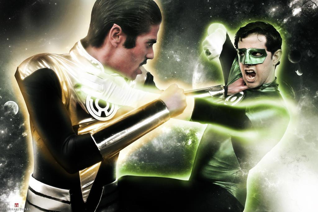 Thal Sinestro vs. Hal Jordan - Green Lantern by LordVick13