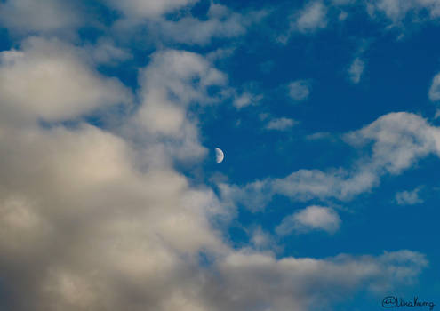 Moon in the Sea of Clouds