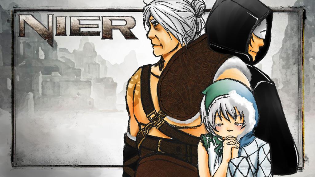 Like Baka Eu Ja Assisti Esse Anime: Cry Plays: Nier (1) By Magamiyuuri On DeviantArt