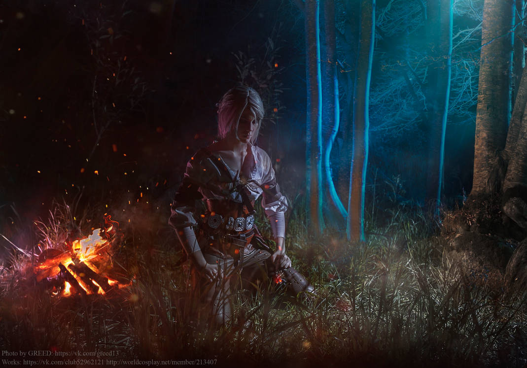 The Witcher 3:Wild Hunt- Ciri