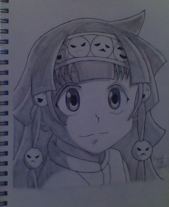 Alluka Drawing by MauiCatgirl