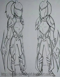 Leincire armor concept by TeriArts