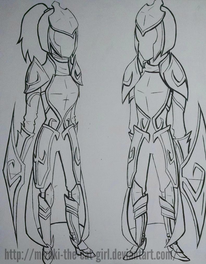 Leincire armor concept by MauiCatgirl