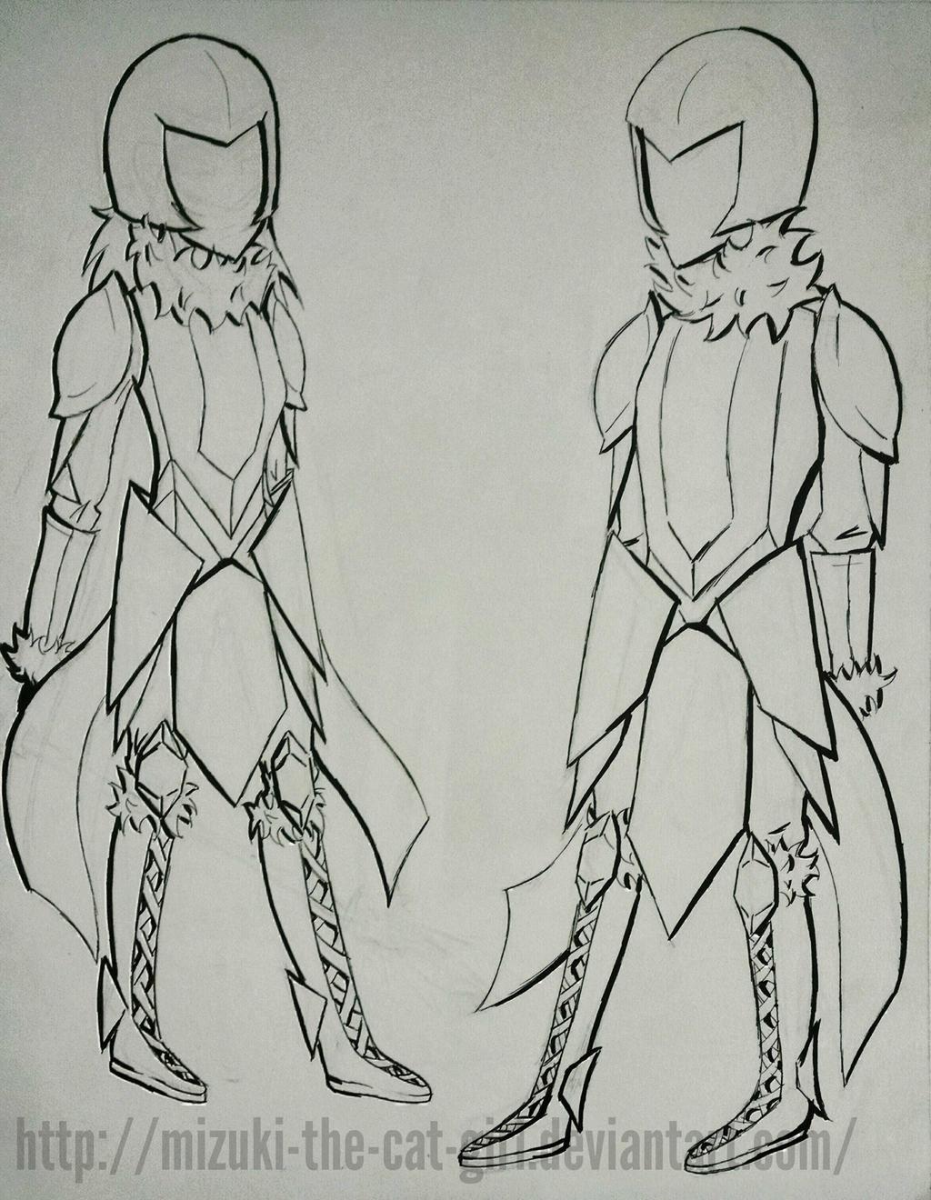 Opirium concept armor by MauiCatgirl