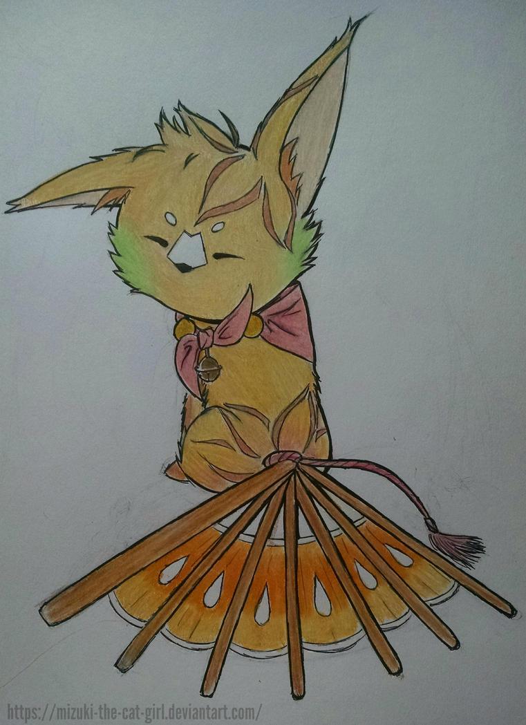 my fantsuneko! by MauiCatgirl