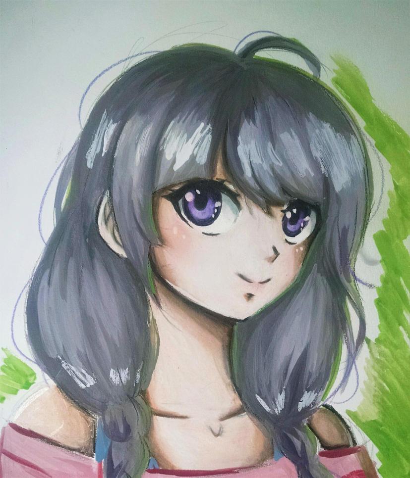 commission- Kaori by MauiCatgirl