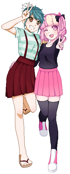 Collab with Yumemin by MauiCatgirl