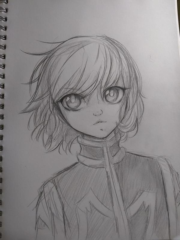 kurapika sketch by MauiCatgirl