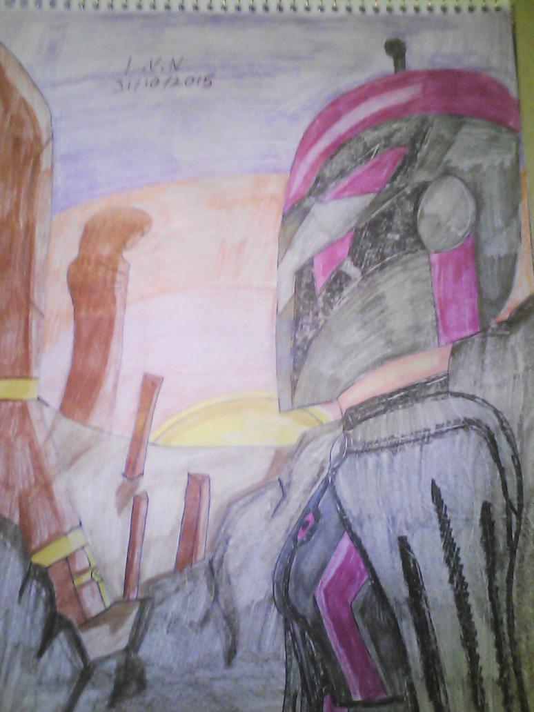 A dawn on Korriban by LordVaderNihilus