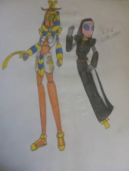 The Pharaoh and the nun