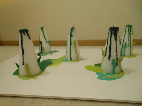 tree melted crayon (2)