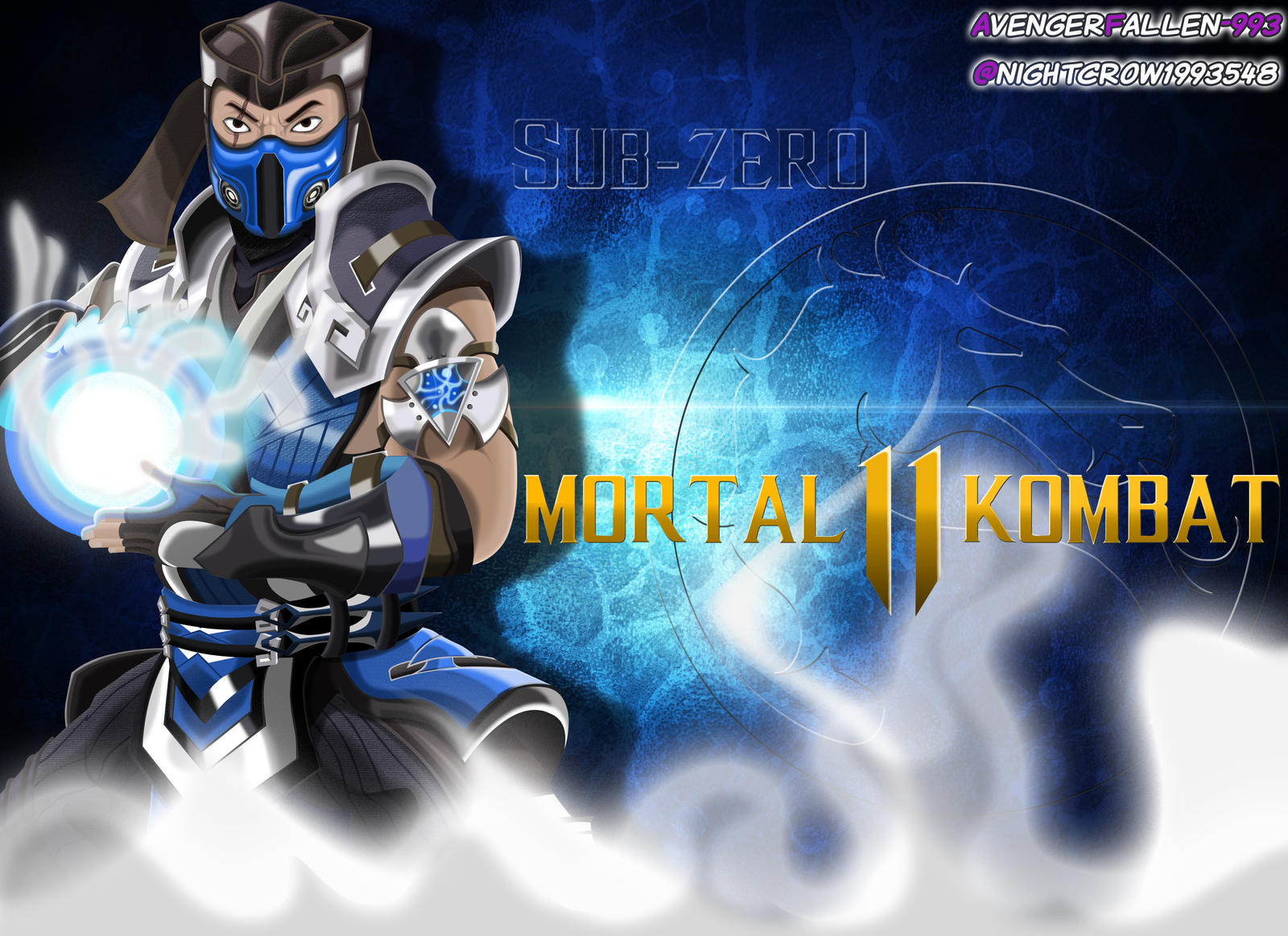 Mk 11 Sub Zero Wallpaper By Avengerfallen 993 On Deviantart