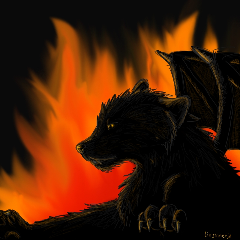Demon Wolf - photo#19
