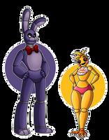 Bonnie n' Toy Chica