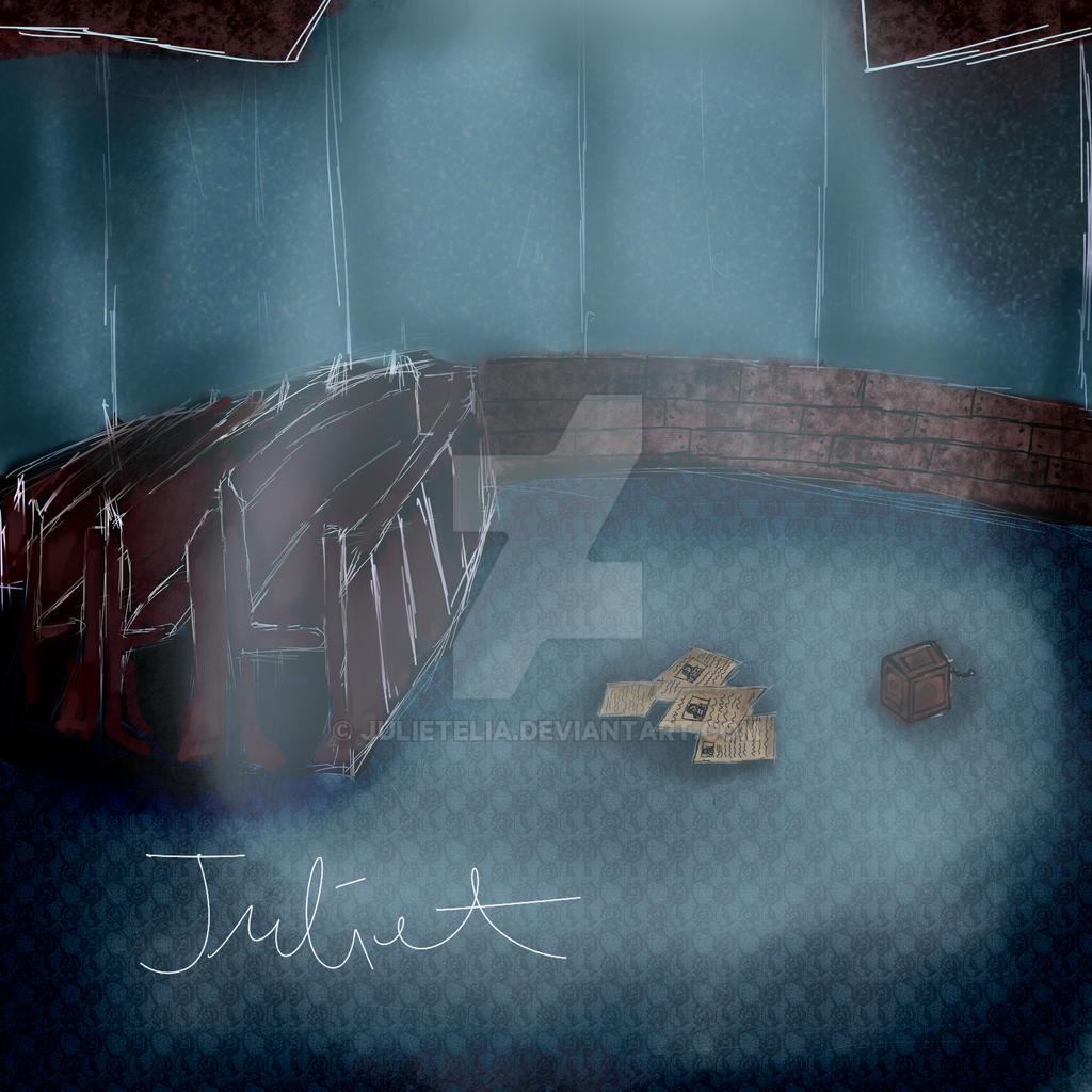 Bad dream  by Julietelia