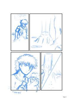 ''The 25th Hour'' - comic panel sample w.i.p.