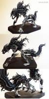 Bloodborne: Darkbeast Paarl sculpture