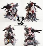 Bloodborne: Vicar Amelia mini sculpture