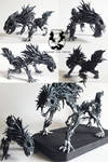 Bloodborne: Mini Darkbeast Paarl sculpture (SOLD)