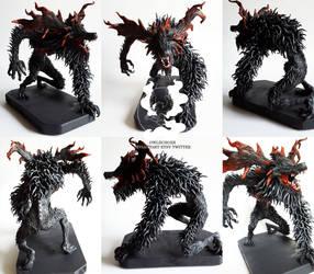 Bloodborne: Cleric Beast sculpture